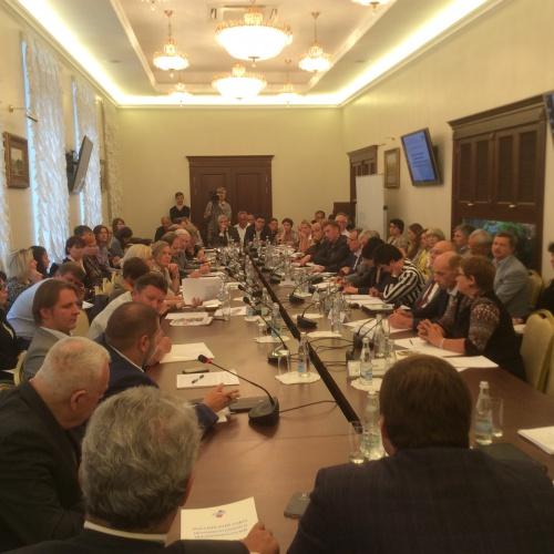Новости клуба: Cовместное заседание комиссии Российского Союза промышленников и предпринимателей (РСПП) по фармацевтической и медицинской промышленности
