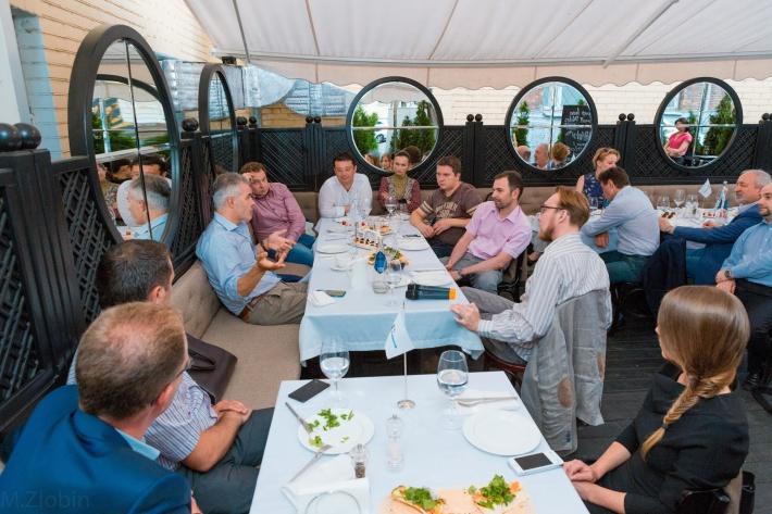 Новости клуба: Неформальный ужин Клуба лидеров